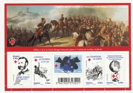 France Frankreich 2009 Yvert No. La Feuille F4386 **, Michel Block 110 **, Rotes Kreuz, Croix Rouge - Blocs & Feuillets