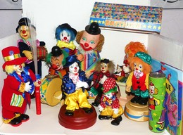 Gros Lots De Clowns Divers - Autres
