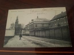 Cp Belgique Hoboken  Het Klooster Facteur Antwerpen Circulee  1913 Affranchissement Gent Gand Exposition - Belgique