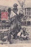 PETIT BOURG      MARCHANDE DE TOURTERELLE. LA JUPE .  + BEL AFFRANCHISSEMENT    GUYANNE - Martinique