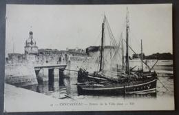 CPA 29 CONCARNEAU - RARE Vue - Entrée De La Ville Close - ND 41 - Réf. D 200 - Concarneau