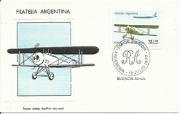 ARGENTINA,  TARJETA CONMEMORATIVA   AÑO  1977 - Argentinien