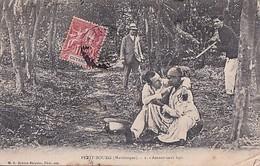 PETIT BOURG      AMOUR SOUS BOIS   .+ BEL AFFRANCHISSEMENT    GUYANNE - Martinique