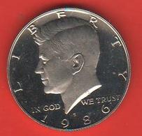 Usa Mezzo Dollaro 1986 S Half Dollar Kennedy America Stati Uniti United States - 1964-…: Kennedy
