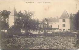 58 - MONTARON - Château De Poussery - France