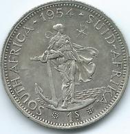 South Africa - 1958 - Elizabeth II - 1 Shilling - KM49 - Zuid-Afrika