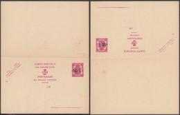 Belgique - Entier Postal Sur  Double Carte Postale Neuve - 75 Cts. - 10%............................. (DD) DC-7564 - Postwaardestukken