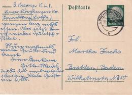 ALSACE-LORRAINE 1941       ENTIER POSTAL/GANZSACHE/POSTAL STATIONARY CARTE DE LORCHINGEN/LORQUIN - Alsace-Lorraine