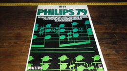 CATALOGUS  PHILIPS 1979   _____ BOX : B - Música & Instrumentos