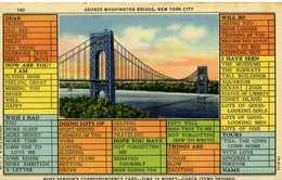 NEW YORK CITY - George Washington Brige - Ponts & Tunnels
