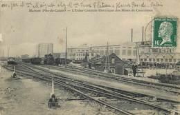 HARNES-l'usine Centrale électrique Des Mines De Courrières - Harnes