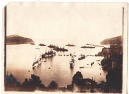 VILLEFRANCHE SUR MER  C.1900 ? Photo - Navire De Guerre - Places