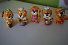 """Lot 5 Lions """"Kinder""""-1993 - Maxi (Kinder-)"""