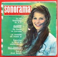 SONORAMA Magazine Sonore Avec 8 Disques Souples N° 32 JUIL AOUT 1961 * Format 19 Cm X 19cm - Autres