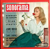 SONORAMA Magazine Sonore Avec 8 Disques Souples N° 31   JUIN   1961 * Format 19 Cm X 19cm - Autres
