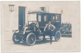 NANTERRE ? - Carte Photo - Automobile Renault Avec Chauffeur - Nanterre