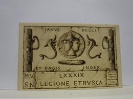 VOLTERRA  -- PISA    -- M.V.S.N.  ----  89°  LEGIONE  ETRUSCA - Firenze