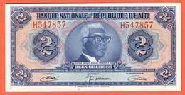 HAITI Billet 2 Gourdes ( 1919 ) Pick 201 - Haïti