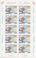 Monaco, N° 2398 (Centenaire De L'ouverture Du Passage Du Nord-Ouest Par Amundsen) Feuillet De 10 TP, Neuf ** - Neufs