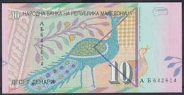 Ref. 2963-3386 - BIN MACEDONIA . 1996. MACEDONIA 10 DENARI 1996 - Macedonia