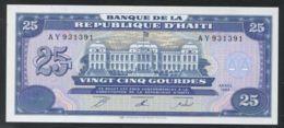 Ref. 2862-3285 - BIN HAITI . 1993. HAITI 25 GOURDES 1993 - Haïti