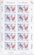Monaco, N° 2414 (Cinquantenaire De La Conquête De L'Everest Par E. Hillary) Feuillet De 10 TP, Neuf ** - Monaco
