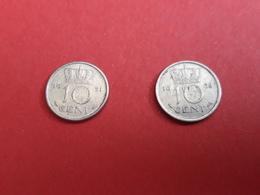 10 Cent 1951, 1958 - Pays-Bas
