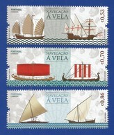 Portugal 2018 , Navegacao A Vels - Segelschiffe - Postfrisch / MNH / (**) - Unused Stamps