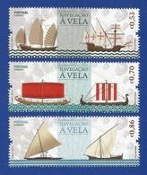 Portugal 2018 , Navegacao A Vels - Segelschiffe - Postfrisch / MNH / (**) - Nuevos