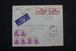 LIBAN - Enveloppe Commerciale De Beyrouth Pour La France En 1950, Affranchissement Plaisant - L 60077 - Libanon