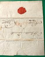 1800 TRIESTE CON BOLLO IN CERALACCA PER PESARO - ...-1850 Préphilatélie