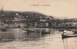 FECAMP  Avant Port  (Lenglet 37 ) - Fécamp