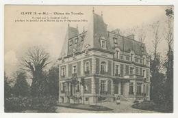 77 - Claye - Château Des Tourelles - Claye Souilly