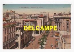 DF / MAROC / CASABLANCA / BOULEVARD DE LA GARE / 1937 - Casablanca