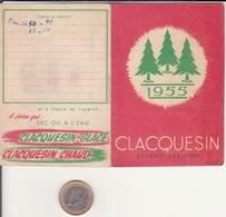 Calendrier Publicitaire 1955, Claquessin - Calendriers