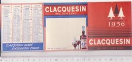 Calendrier Publicitaire 1956, Claquessin - Calendriers