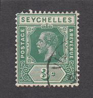 Seychelles 1917  3c    SG83   Used - Seychelles (...-1976)