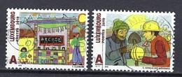 Luxemburg 2010, Nr. 1887-1888 Europäisches Jahr Zur Bekämpfung Von Armut Und Sozialer Ausgrenzung Gestempelt Luxembourg - Used Stamps