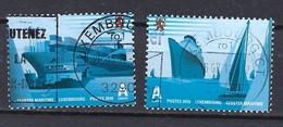 Luxemburg 2010, Nr. 1893-1894, 2 Jahre Luxemburgischer Schifffahrtsverband Gestempelt Luxembourg - Used Stamps