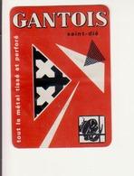 Calendrier  1967- Gantois- Saint Dié - Calendriers
