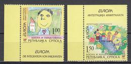 Servische Republiek  Europa Cept 2006 Type Do,Du Postfris M.n.h. - 2006