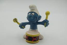 Smurfs Nr 20009#1 - *** - Stroumph - Smurf - Schleich - Peyo - Drum - Schtroumpfs