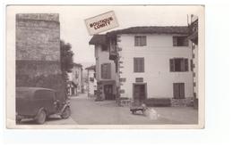 Espagne Pamplona Pampelune Cpa Carte Photo Javier Mena  Rue Vieille Voiture Auto - Navarra (Pamplona)