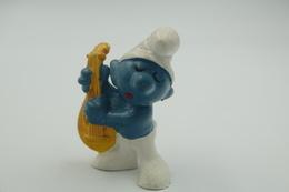 Smurfs Nr 20013#1(overpaint-> 3) - *** - Stroumph - Smurf - Schleich - Peyo - Lute - Smurfs