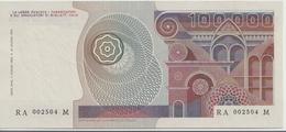 ITALY P. 108b 100000 L 1980 UNC - [ 2] 1946-… : Républic