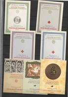 FRANCE - ENSEMBLE DE CARNETS CROIX ROUGE DONT 1956 ET 1957 - COTATION 388€ - NEUFS - Croix Rouge