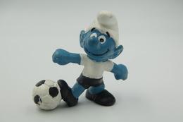 Smurfs Nr 20068#1 - *** - Stroumph - Smurf - Schleich - Peyo - Soccer - Football - Schtroumpfs (Los Pitufos)