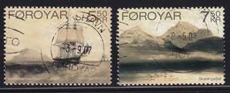 Faroer 2007, Ship, Complete Set Vfu. Cv 4 Euro - Faroe Islands