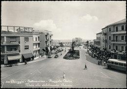 CHIOGGIA - SOTTOMARINA - PIAZZALE ITALIA - VIALE DELLO STABILIMENTO ASTORIA 1957 - Chioggia