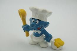 Smurfs Nr 20073#1 - *** - Stroumph - Smurf - Schleich - Peyo- Chef - Schtroumpfs (Los Pitufos)